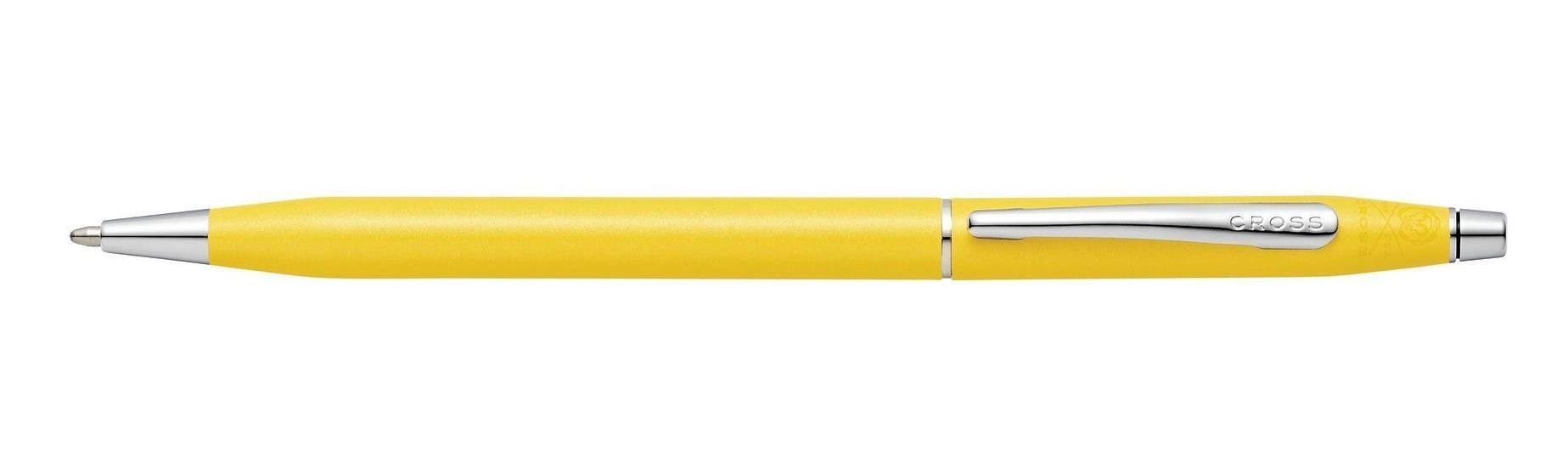 Cross Classic Century Sunrise Yellow  Pearlescent Lacquer  Pen In Box AT0082-126